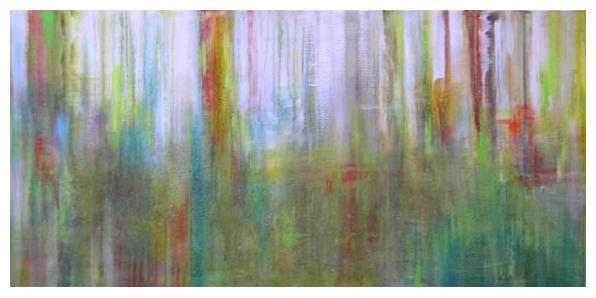 121 - 24 x 48 – Acrylic on Canvas