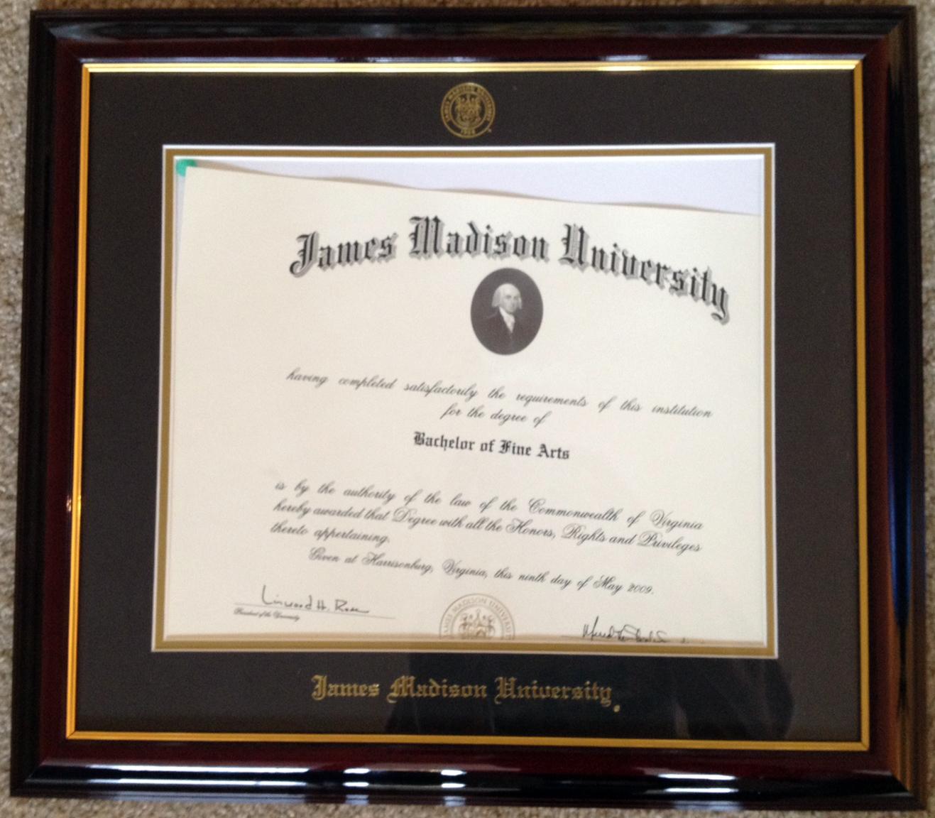 James Madison University Framing And Fine Art Blog