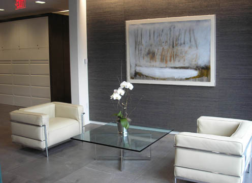 How about this for a nice relaxing seating area?