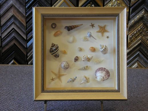 Special Seashell Memories also make a Great Piece of Art