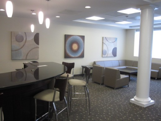 Check out this office design we did in Tyson Corner, VA