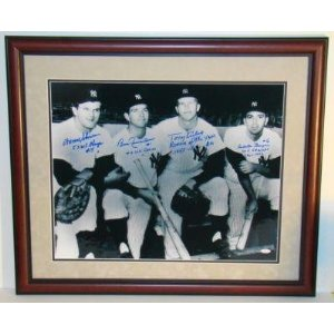 1961 Yankees Infield Signed