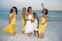 Barefoot Beach Wedding - What a great photo!