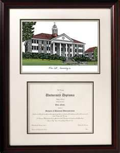 JMU frame with a picture of Wilson Hall