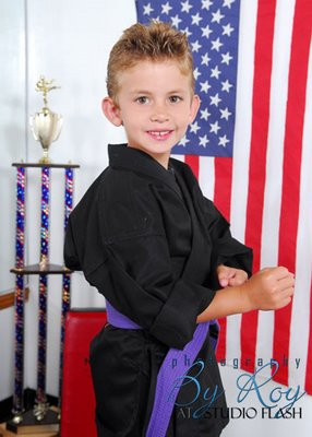 How about this talent karate champ?!