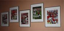 A wall of Sports Ilustrated looks fun.