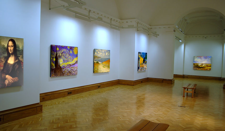 GicleeArt in a Gallery