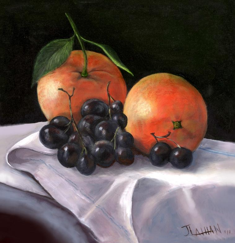 """Oranges and Grapes""  By Wolfgnag Tillman"