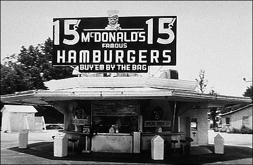 A California Mcdonalds in the 1940s