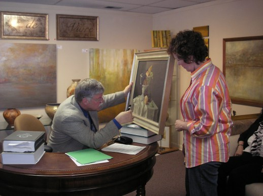 Check out Broadway Galleries Guest Appraiser for the day!