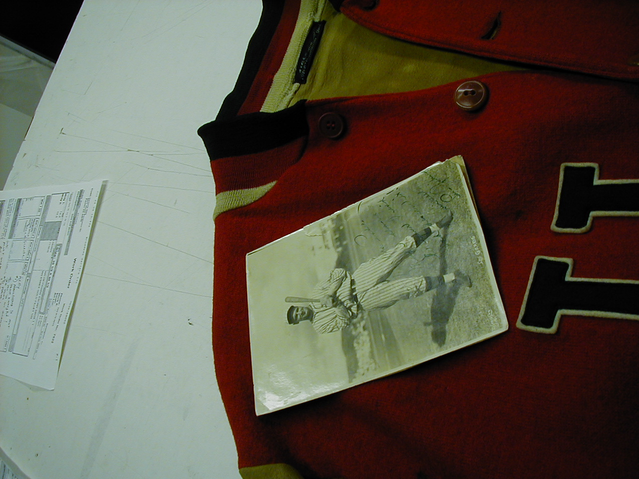take a look at the prep work involved in framing a sports jacket