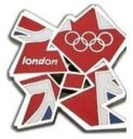 London 2012 Olympic Badge