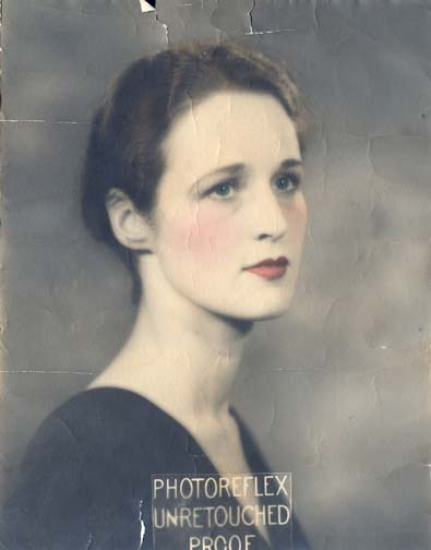Photo of Grandma before restoration